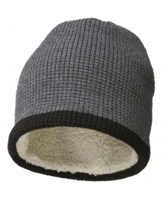 Luxury Beanie with teddy lining bedrukken