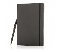 A5 hardcover notitieboek met touchscreen pen bedrukken