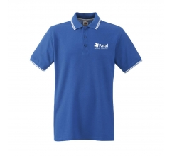 Fruit Premium Tipped Polo heren poloshirt bedrukken