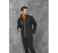 Orion softshell heren jas bedrukken