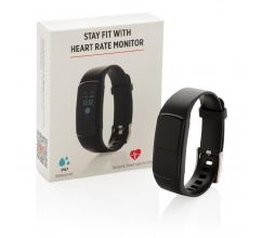 Stay Fit activity tracker met hartslagmeter bedrukken